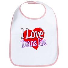 I Love Trans Fat Bib