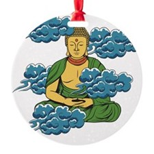Sakyamuni Buddha In The Clouds Ornament