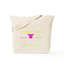 Air Head Instructions Tote Bag