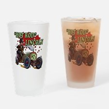 Hot Rod Lincoln Drinking Glass