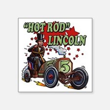 """Hot Rod Lincoln Square Sticker 3"""" x 3"""""""
