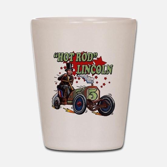 Hot Rod Lincoln Shot Glass