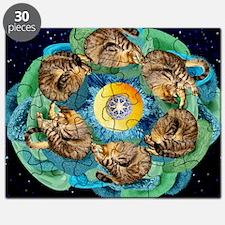 Cosmic Cats C horiz lt Puzzle