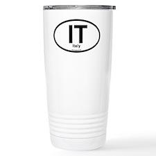 IT - Italy oval Travel Mug