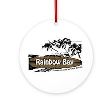 Cute Bay Ornament (Round)