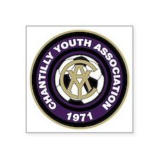 "CYA Soccer Logo Square Sticker 3"" x 3"""