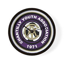 CYA Soccer Logo Wall Clock