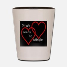 Single Dark Shot Glass