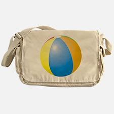 big beach ball Messenger Bag