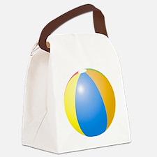 big beach ball Canvas Lunch Bag