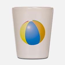 big beach ball Shot Glass
