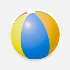 "big beach ball 3.5"" Button"