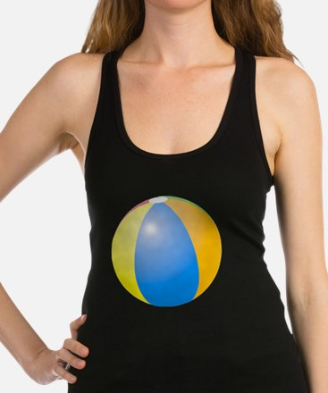 big beach ball Racerback Tank Top