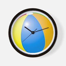 big beach ball Wall Clock