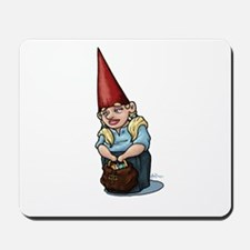 Purse Poppin' Gnome Mousepad