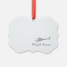 Flight nurse eat sleep repeat DAR Ornament