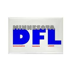 Minnesota DFL - Democratic-Fa Rectangle Magnet (10