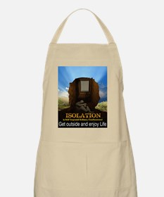 Isolation Poster Apron