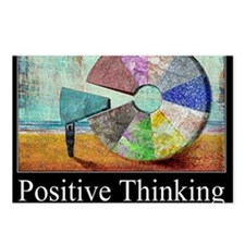 Positive Thinking Postcards (Package of 8)