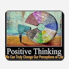 Positive Thinking Mousepad