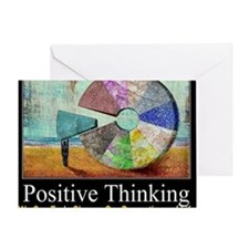 Positive Thinking Greeting Card