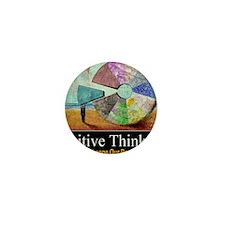 Positive Thinking Mini Button