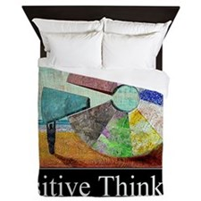 Positive Thinking Queen Duvet
