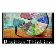 Positive Thinking Decal