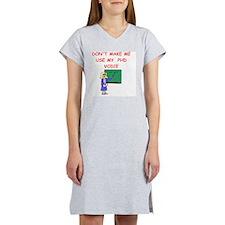 phd Women's Nightshirt