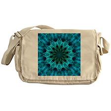 blue energy Messenger Bag