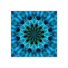 "blue energy Square Sticker 3"" x 3"""