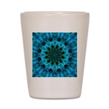 blue energy Shot Glass