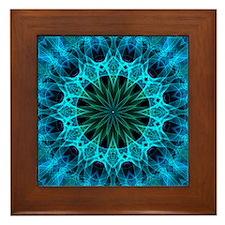 blue energy Framed Tile