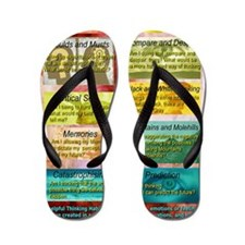 Unhelpful Thought Habits skill poster 1 Flip Flops