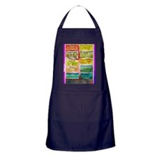 Unhelpful Thought Habits skill poster Apron (dark)