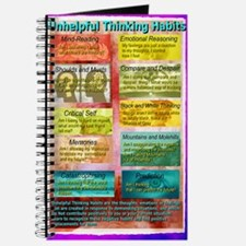 Unhelpful Thought Habits skill poster 11X1 Journal