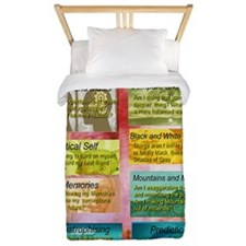 Unhelpful Thought Habits skill poster 1 Twin Duvet