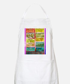 Unhelpful Thought Habits skill poster 11X17 Apron