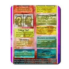 Unhelpful Thought Habits skill poster 11 Mousepad