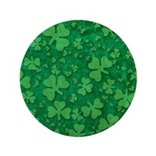 "Shamrock Pattern 3.5"" Button"