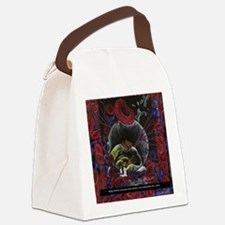 Sickle Cell Pain Awareness 2 SS Canvas Lunch Bag