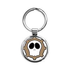 Dead Cog II Round Keychain
