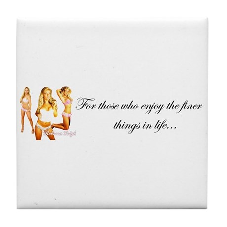 Finer Things Tile Coaster