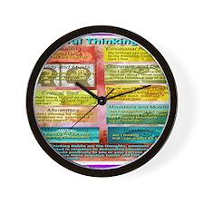 Unhelpful Thought Habits Wall Clock