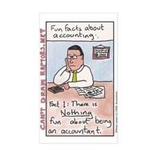 Accountant Rectangle Bumper Stickers