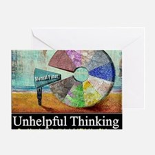 Unhelpful Thinking Styles Greeting Card