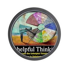 Unhelpful Thinking Styles Wall Clock