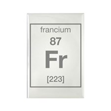 Francium Rectangle Magnet