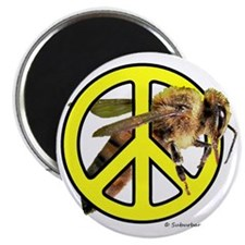 Give Bees A Chance! Magnet