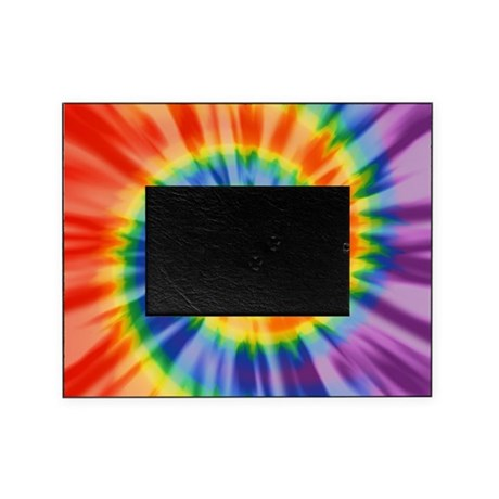 Printed Tie Dye Pattern Picture Frame